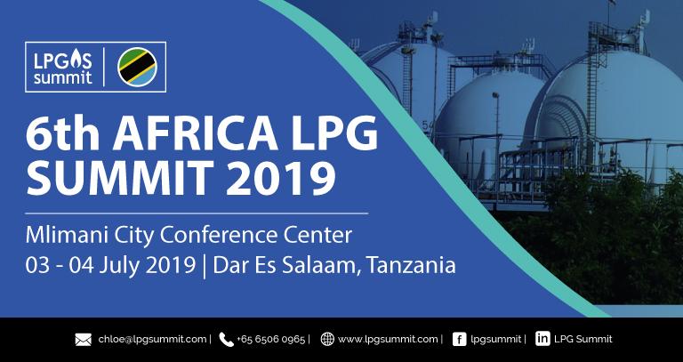 6th Africa LPG Summit 3-4 July 2019: Developing Key Success