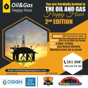 List Of Oil and Gas Exploration and Production Companies In Tanzania
